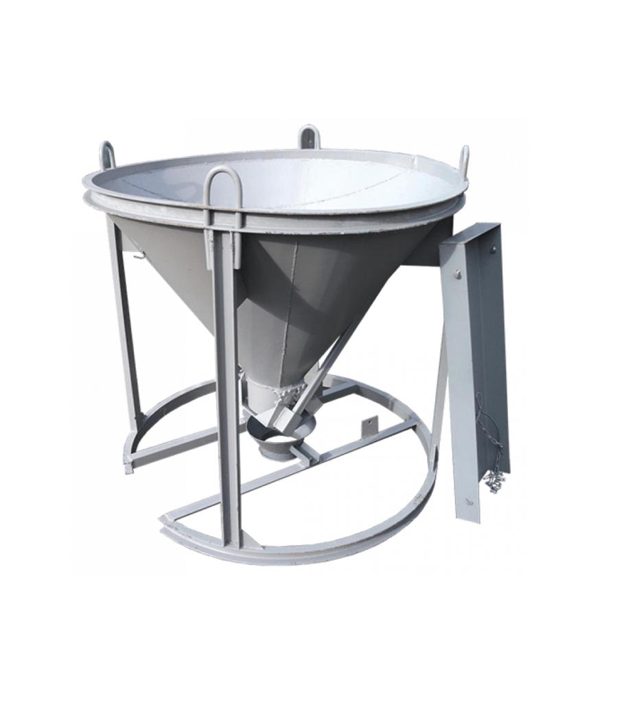 Бадья для бетона вертикальная БН-0,5м3 (под лоток)