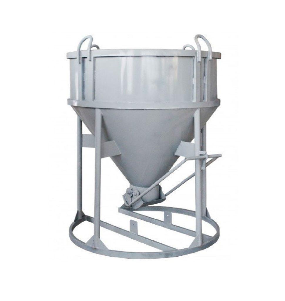 Бадья для бетона вертикальная БН-1,5м3 (под лоток)