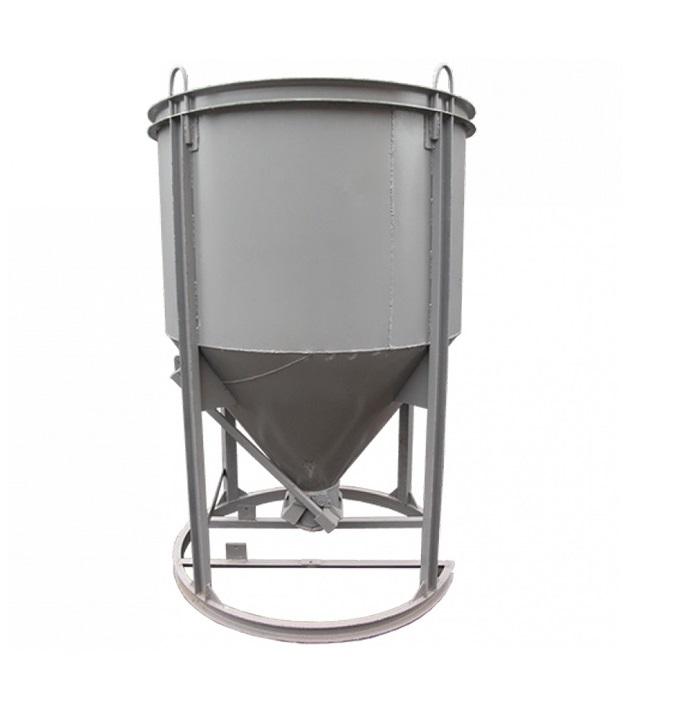 Бадья для бетона вертикальная БН-2,0м3 (под лоток)